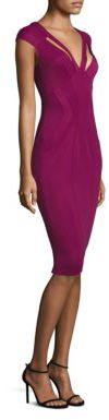 ZAC Zac Posen Cutout Body-Con Dress $375 thestylecure.com