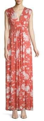 Rachel Pally Floral-Print Floor-Length Dress