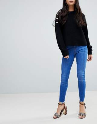 New Look High Rise Shaper Jean