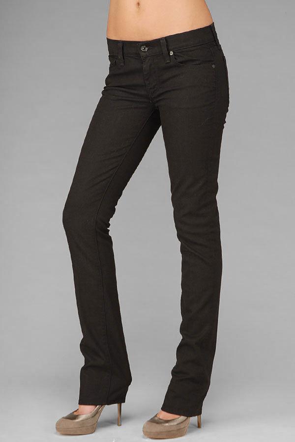 Classic Straight Leg In Black Black