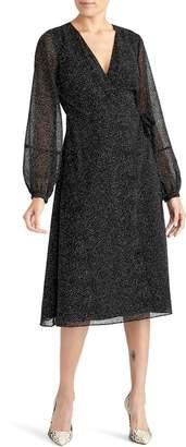 Rachel Roy Collection Dot Surplice Dress