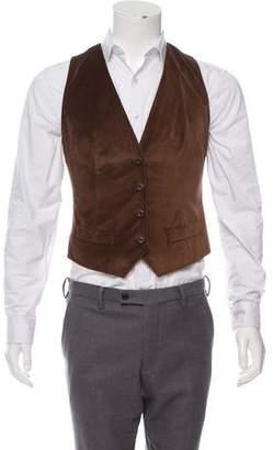 Dolce & Gabbana Velvet Tuxedo Vest