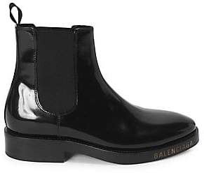 0a46a04d8678 Balenciaga Women s Patent Leather Booties