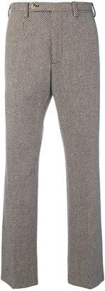 Gucci woven tailored trousers