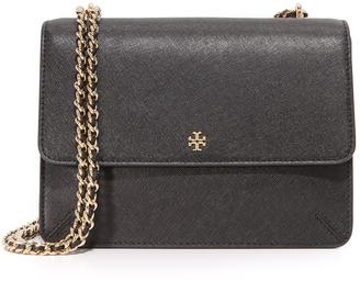 Tory Burch Robinson Convertible Shoulder Bag $395 thestylecure.com