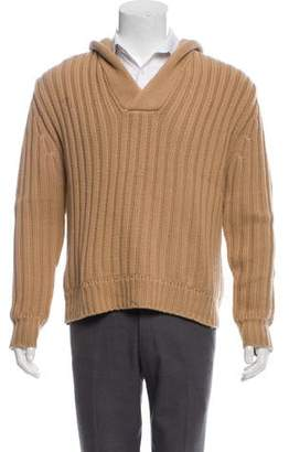 Adam Kimmel Knit Cashmere Hooded Sweater