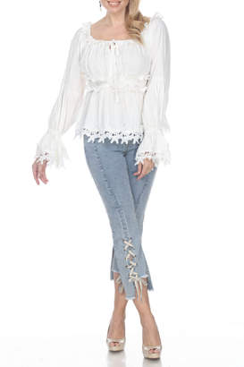 Azi Jeans Tatiana Lace Up Jean
