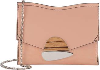 Proenza Schouler Curl Stone Pink Small Clutch