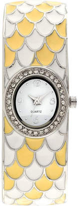 JCPenney FASHION WATCHES Womens Multicolor Bangle Watch-Jcp1219