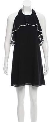 Alice + Olivia Silk Halter Dress