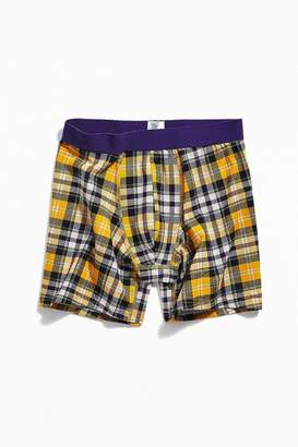 Urban Outfitters Oliver Plaid Boxer Brief