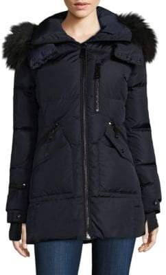 SAM. Cruiser Fur Trimmed Down Jacket