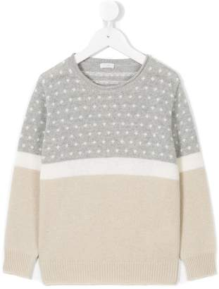 Il Gufo patterned knit jumper