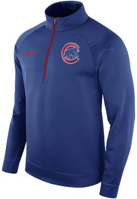 Nike Men's Chicago Cubs Bench Therma-FIT Pullover