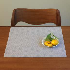 Modern-Twist Origami Placemats