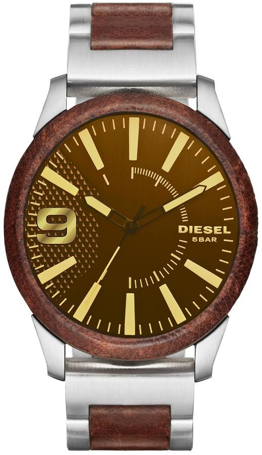 DieselDiesel Men's Rasp Two-Tone Bracelet Watch