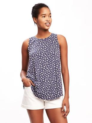 Star-Patterned Swing Tank for Women $19.94 thestylecure.com