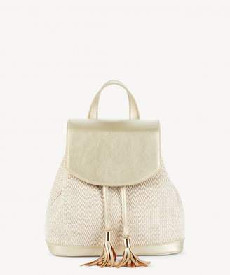 Sole Society Suki Shoulder Fabric Backpack w/ Tassel Detail