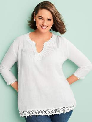 Talbots Womans Exclusive Linen Tunic