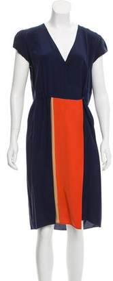 Aquilano Rimondi Aquilano.Rimondi Silk Midi Dress