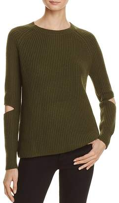 Zoe Jordan Turing Slit Sleeve Sweater $440 thestylecure.com