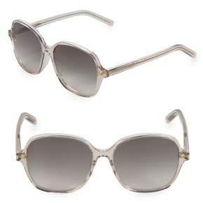 Saint Laurent 57MM Oversized Sunglasses