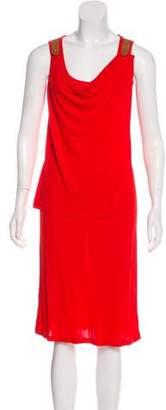 Jean Paul Gaultier Sleeveless Midi Dress
