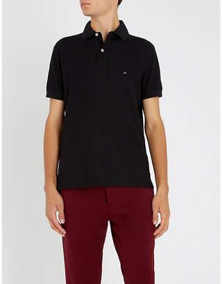 Tommy Hilfiger Regular-fit cotton-piqué polo shirt