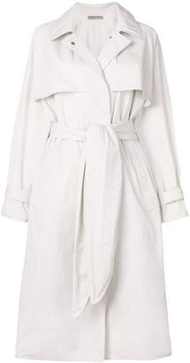 Bottega Veneta oversize belted trench coat