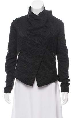 Gareth Pugh Textured Asymmetrical Jacket
