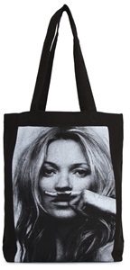 Little Eleven Paris Kate Moss Canvas Tote Bag