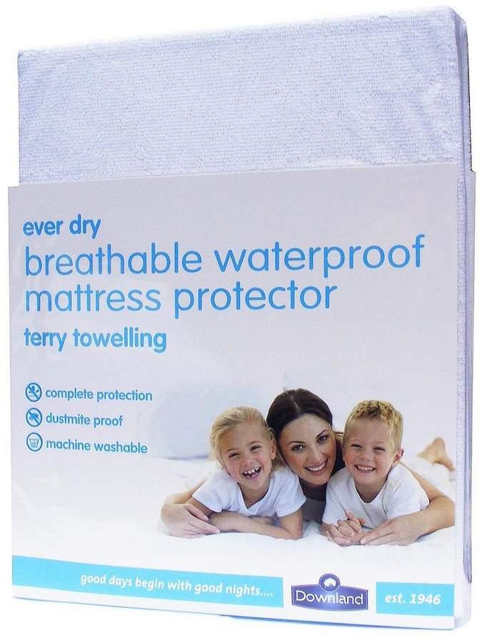 Terry Waterproof Deep Mattress Protector - 30cm Depth