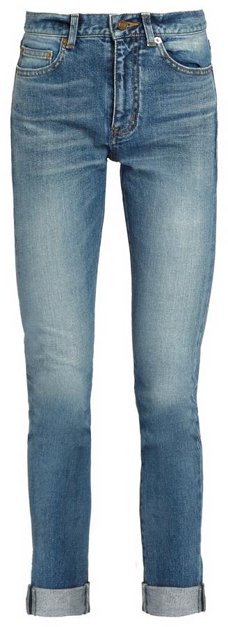 Saint LaurentSAINT LAURENT Mid-rise skinny jeans