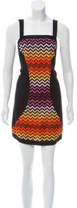 Missoni Chevron Mini Dress
