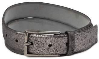 BOSS Giantico Distressed Suede Belt