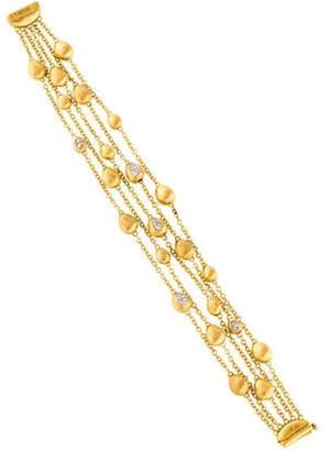 Marco Bicego 18K Diamond Five Strand Bracelet yellow 18K Diamond Five Strand Bracelet