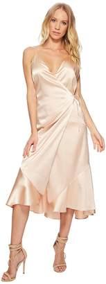 The Jetset Diaries Tera Bias Cut Wrap Mini Dress Women's Dress