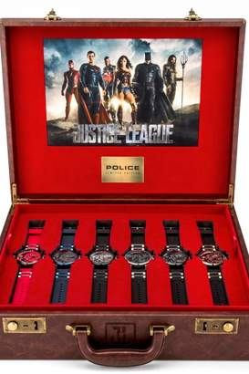 Police Mens Justice League Limited Edition Heroes Box Set Watch 14536JS/SET