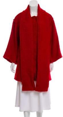 Dolce & Gabbana Wool & Mohair-Blend Short Coat