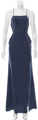 Stone Cold Fox Silk Maxi Dress w/ Tags $175 thestylecure.com