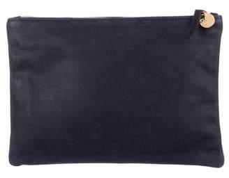 Clare Vivier Leather Zip Pouch