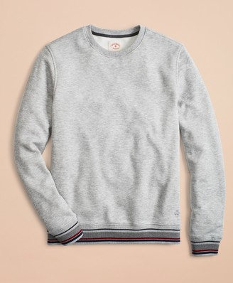 Brooks Brothers Pique Fleece Crewneck Sweatshirt
