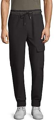 Lot 78 Lot78 Lot78 Men's Slim-FIt Crepe Combat Pants