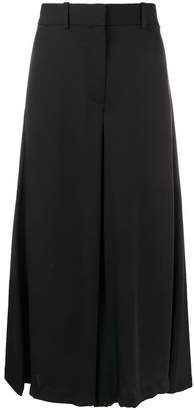 Theory cropped wide leg trousers
