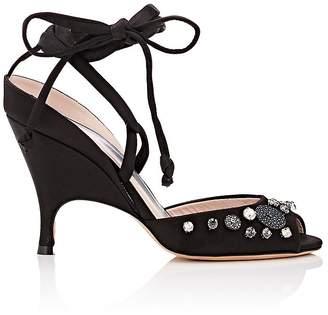 Ballin Alchimia Di Women's Lidae Satin Ankle-Tie Sandals