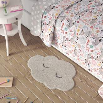 Harriet Bee Tyreek Cotton White Area Rug