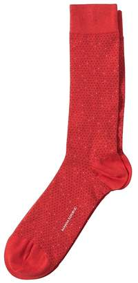 Banana Republic Daryl Mini Dot Sock