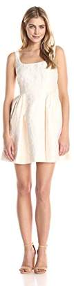 Cynthia Rowley Women's Short Textured Jacquared Dress