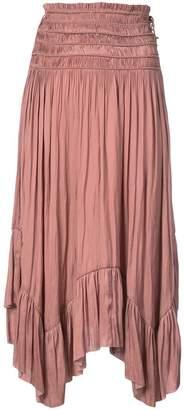 Ulla Johnson pleated mid skirt