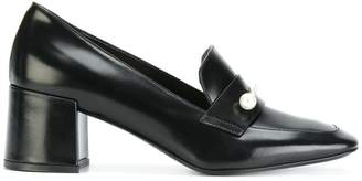 Coliac pointed toe heeled pumps
